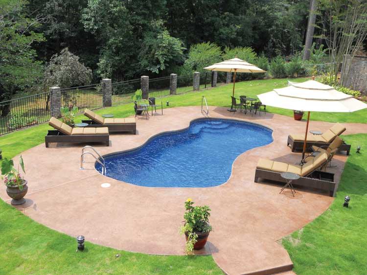 Blue Hawaiian Pools Fiberglass Pools Heartland Pools