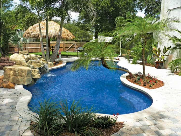 Blue Hawaiian Pools Fiberglass Pools Heartland Pools